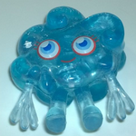 Moshi Monsters #034 Dipsy frostbite blue
